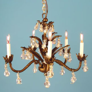CH-100 5-arm Bronze Chandelier