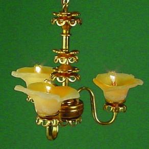 CH-SS 3 arm chandelier