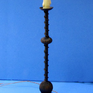 Fancy Tudor Candle Stand