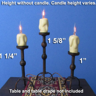 Tudor Candle Stands